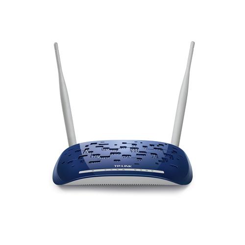 Tp-Link TD-W8960N 4Port 300Mbps Wi-Fi Adsl2 Router/Vpn Modem