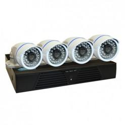 BEGAS 1130 AHD 4 Kameralı 1.0mp Paket - P156