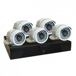 BEGAS 1130 AHD 5 Kameralı 1.0mp Paket - P160