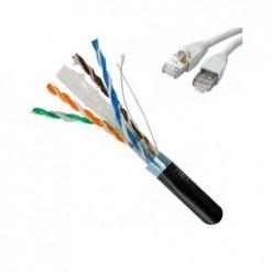 305 Metre CAT6 FTP 23 AWG Saf Bakır Network Data Kablosu