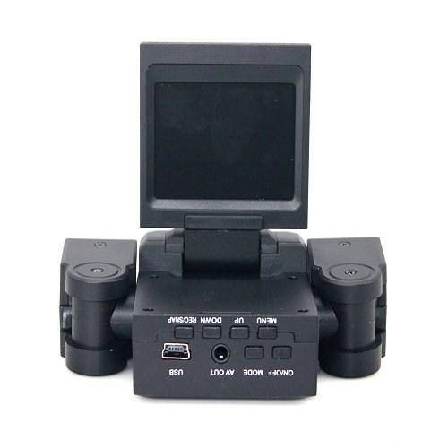 Cyber Araç içi Çift Kameralı Kayıt Cihazı An-4594 4