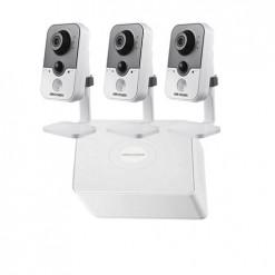 Haikon 3 Kablosuz IP Kameralı Paket (1.3mp) - IP602 W