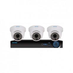Neutron 3 AHD Dome Kameralı 720p Paket - P149